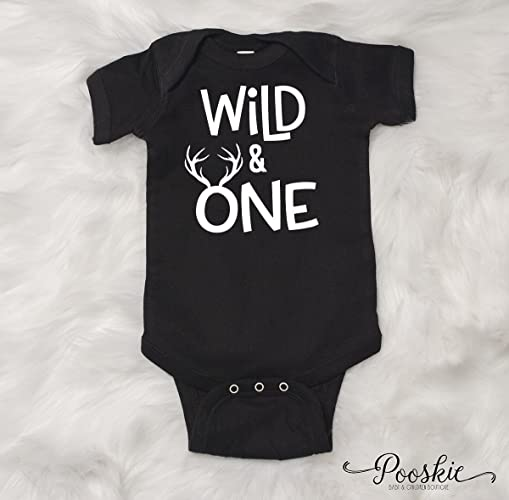 Wild And One First Birthday Bodysuit 1st Shirt Its My Outfit For