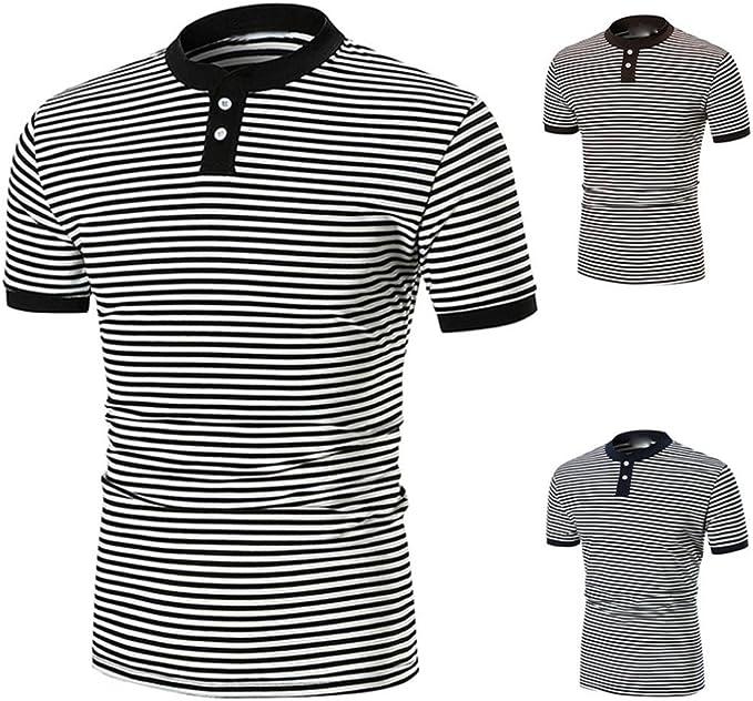 WINWINTOM Moda de Verano Camisetas, 2020 Hombre Camisetas y Polos ...