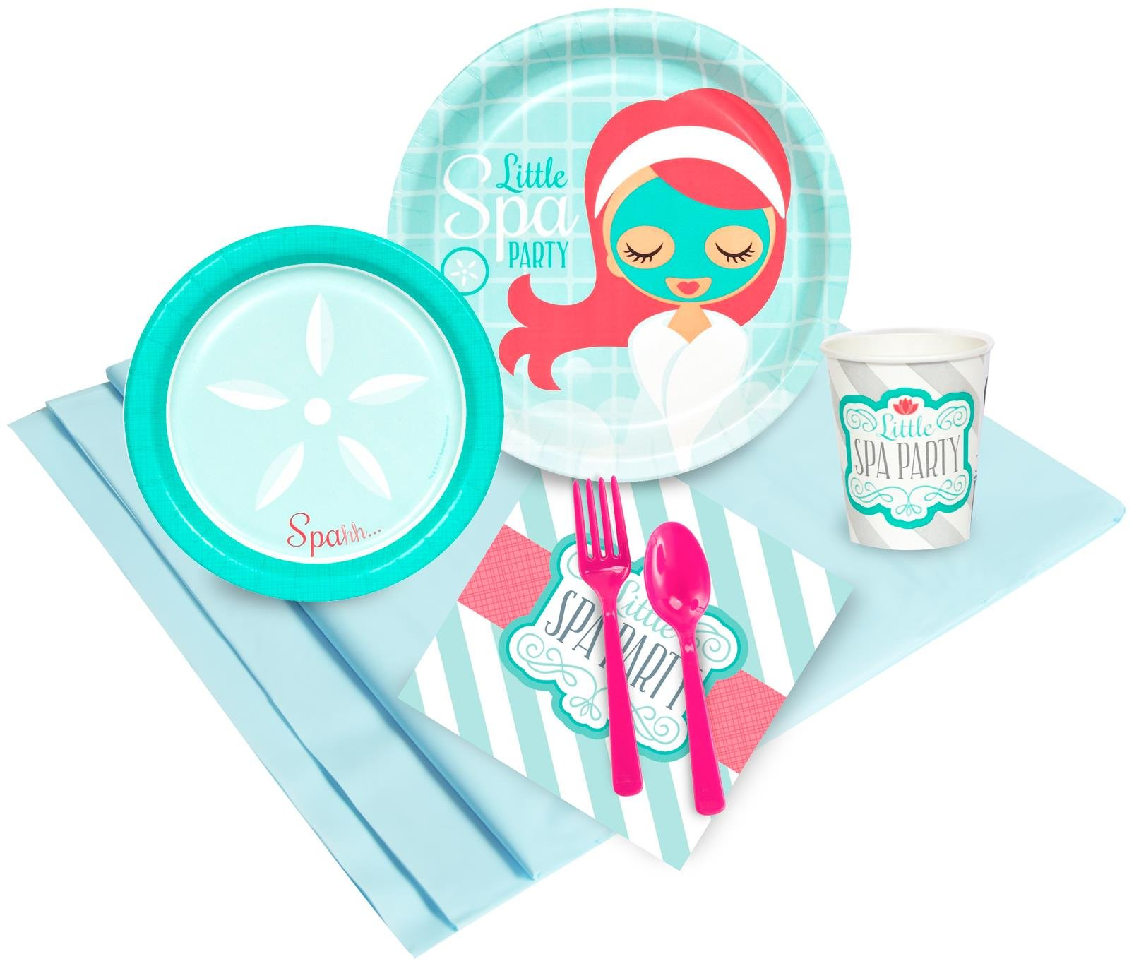 Birthday Express - Little Spa Party Pack - , Pack of 8