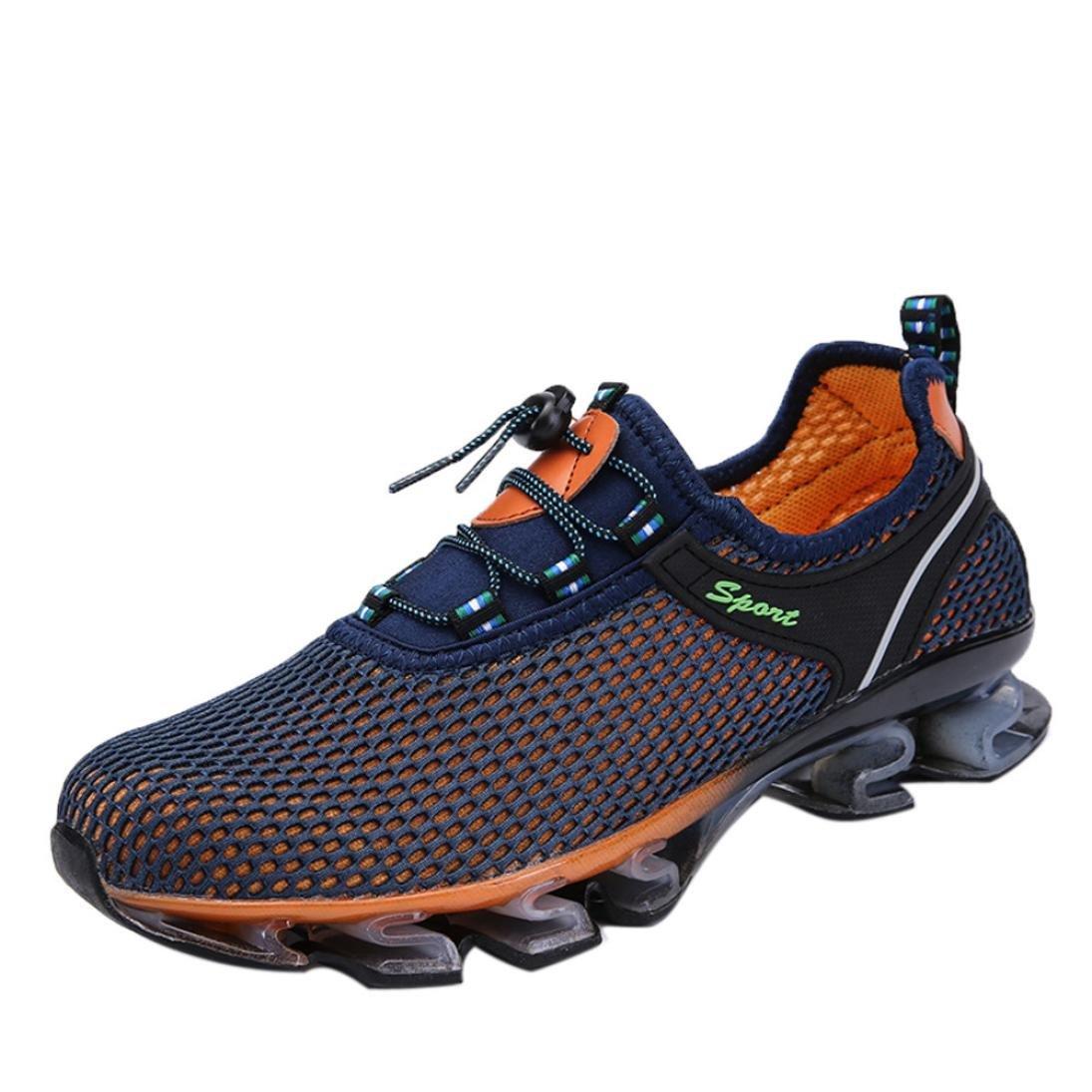 Hombre Zapatillas de Deporte Zapatos Deportivos Aire Libre y Deportes Zapatillas de Running Gimnasia Mens Running Light Mesh Athletic Walking Sneaker ...