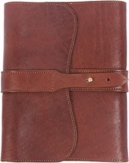 product image for Col. Littleton Full-Grain Leather Golf Journal | Refillable | USA Made | Brown