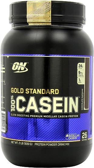 100% Caseína Proteína, Chocolate supremo - 908g by Optimum ...