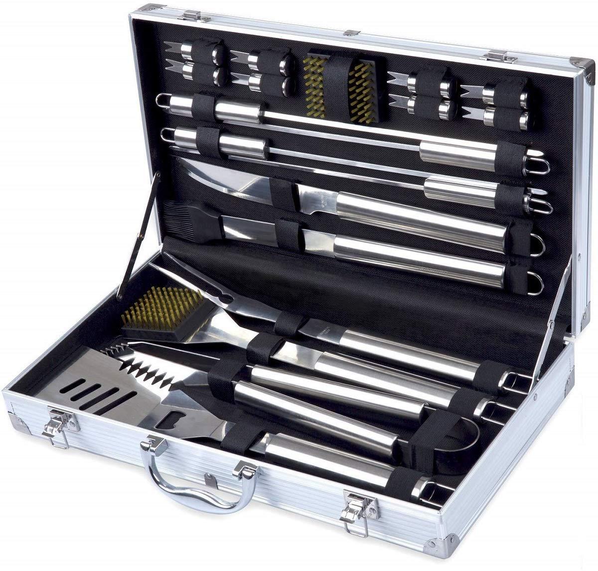 Grill Tool Set Kacebela BBQ Tools Grill Utensil Set with ...