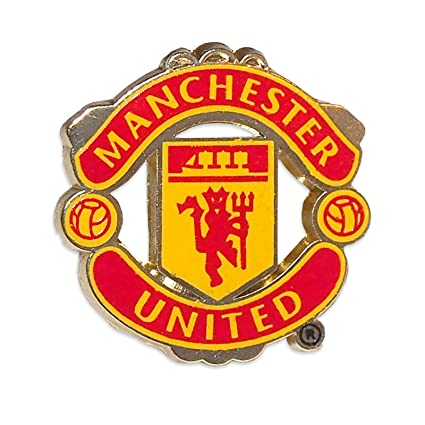 amazon com manchester united pin logo sports related rh amazon com manchester united logo pictures download Chelsea Logo