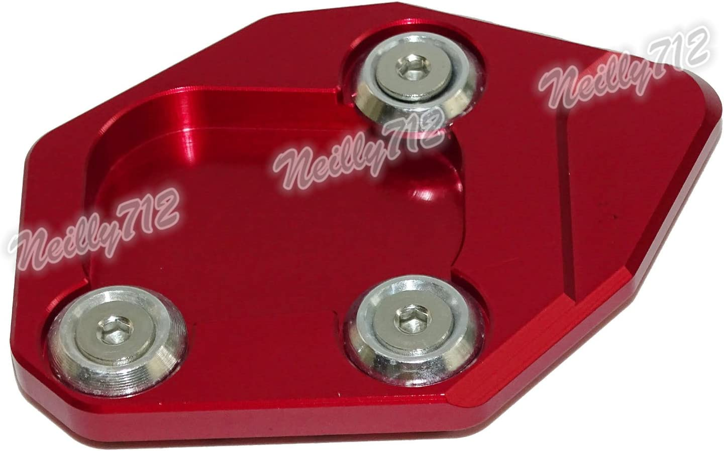 Red waase CBR600RR Motorcycle Kickstand Foot Side Stand Extension Pad Support Plate For Honda CBR 600 RR 2007 2008 2009 2010 2011 2012 2013 2014 2015 2016