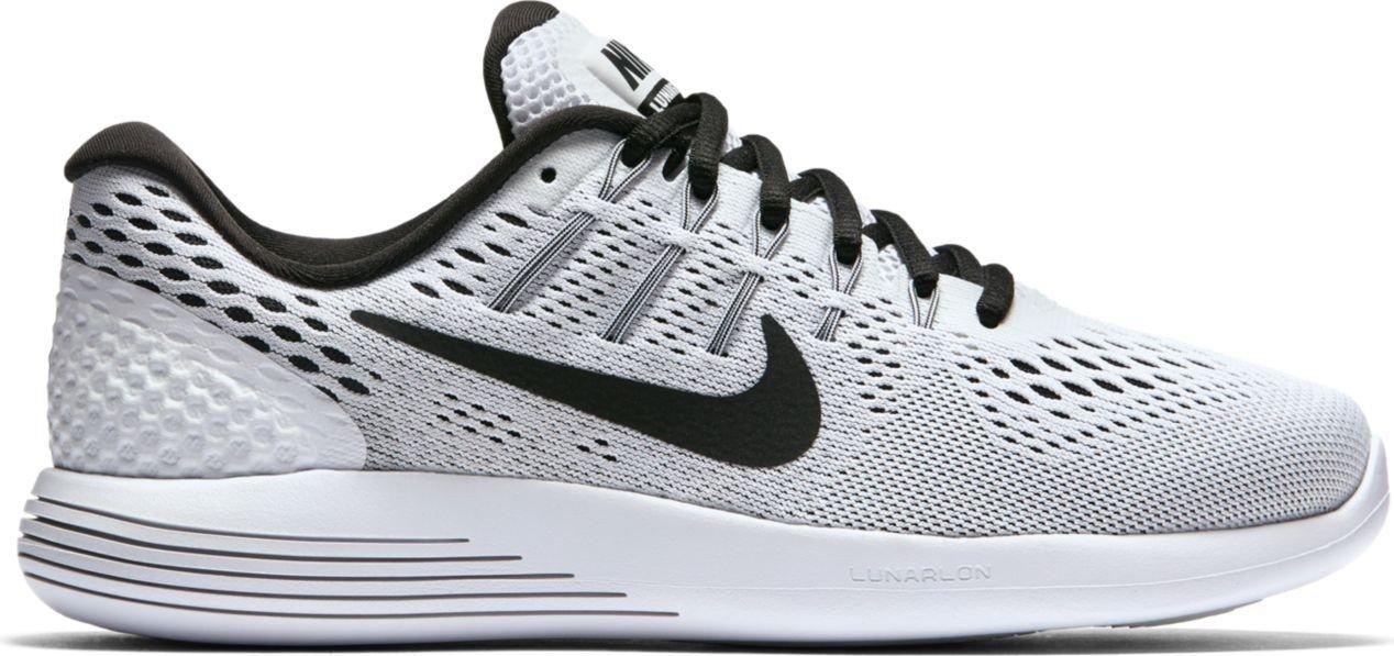 reputable site 3b210 eeebb Galleon - Nike Womens Lunarglide 8 White/Black Running Shoe ...