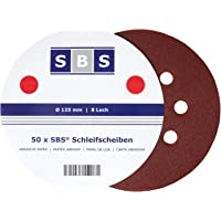 SBS–Disco de lija con velcro (125mm de diámetro