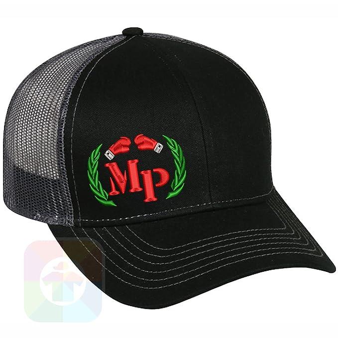 4b30b376e1f0f Custom Tshirts and Hats Boxing Manny Pacquiao Structured Snapback Baseball  Mesh Hat Cap  2087