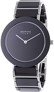 BERING Time 11435-742 Womens Ceramic Collection Watch with Stainless steel Band and scratch resistant