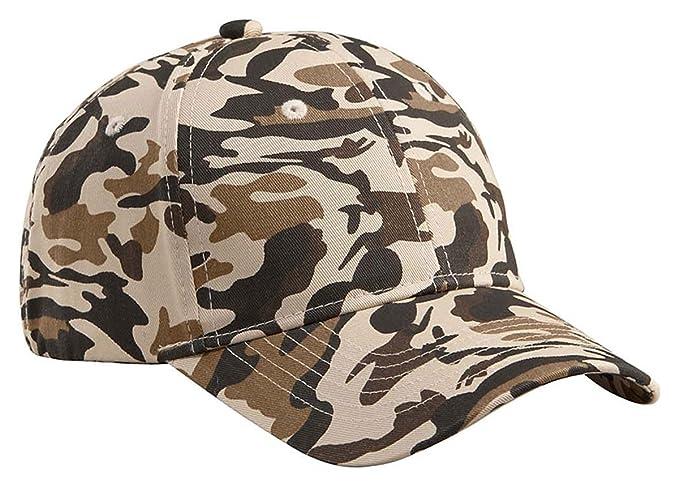 74dc9260708b67 Amazon.com: Big Accessories Structured Camo Hat, DESERT CAMO, One ...