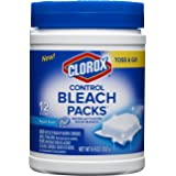 Clorox Control Bleach Packs, Regular Laundry Packs, 12 Count
