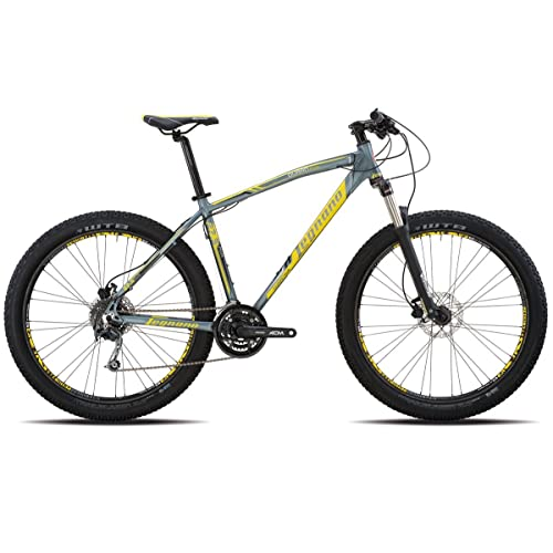 "Legnano vélo 910Duran 27,5""Plus 3x 8V taille 48alu gris (VTT ammortizzate)/Bicycle 910Duran 27,5plus 3x 8S Size 48alu Grey (VTT Front Suspension)"
