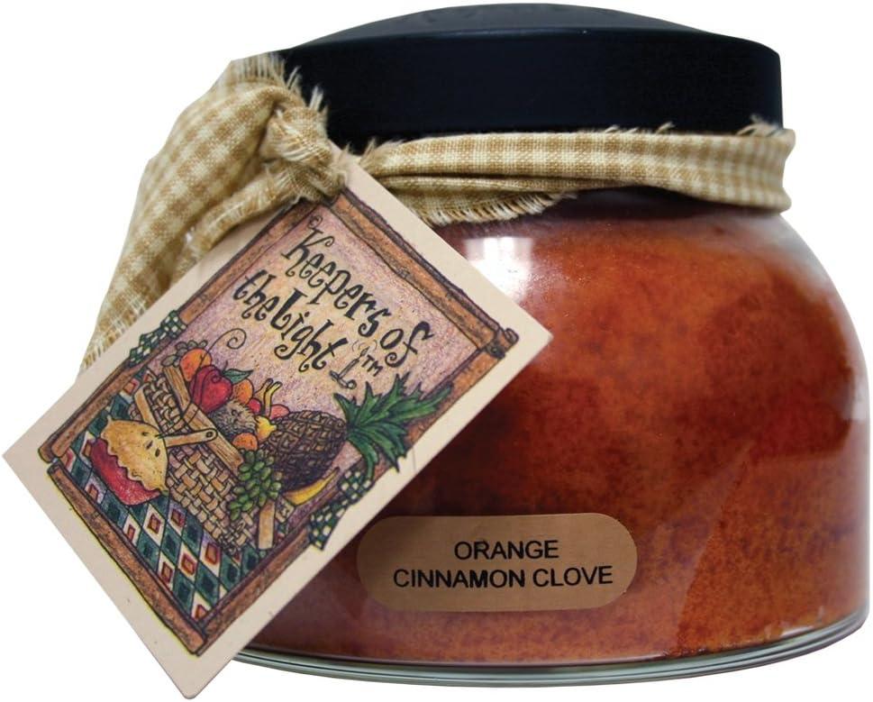 A Cheerful Giver Orange Cinnamon Clove 22 oz. Mama Jar Candle, 22oz