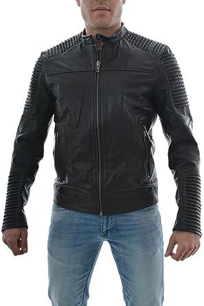 022292e827a7b8 JACK   JONES Herren Lederjacke JjorLeather 5 Jacket