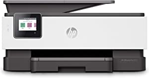 HP OfficeJet Pro 8035 All-in-One Wireless Printer – Includes 8 Months of Ink Delivered to Your Door, plus Smart Tasks for Home Office Productivity – Basalt (5LJ23A) (Renewed)