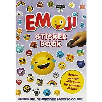 Emoji Livre D Autocollants A4 Avec Plus De 100 Autocollants
