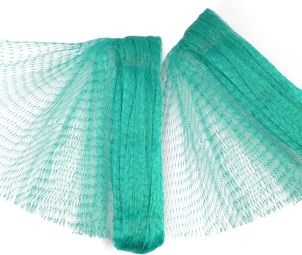 Dobmit Bird Netting for Garden, 33Ft x 13Ft Garden Netting for Plants, Fruit Trees, Grapes, Pest Barrier and Squirrels, 2PACK