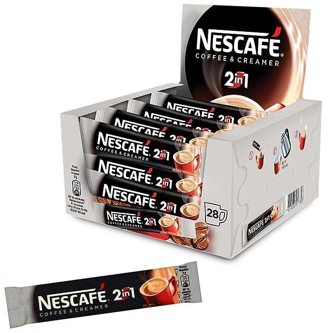 224 sobres x cafetera Nescafe 2 in1 cremosa UE fabricado ...