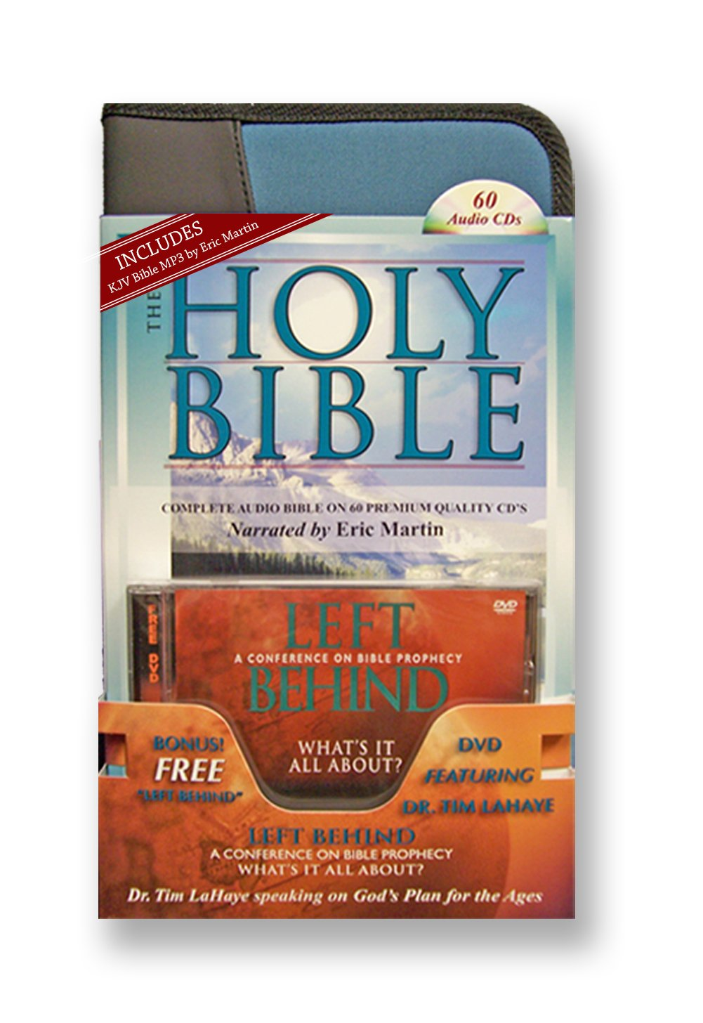 King james Version Audio Bible on 60 CDs-Plus Free Audio Bible, a 2nd Complete Audio Bible Free on MP3 Discs-Plus Free Tim LaHaye speaking on God's Plan for the Ages.