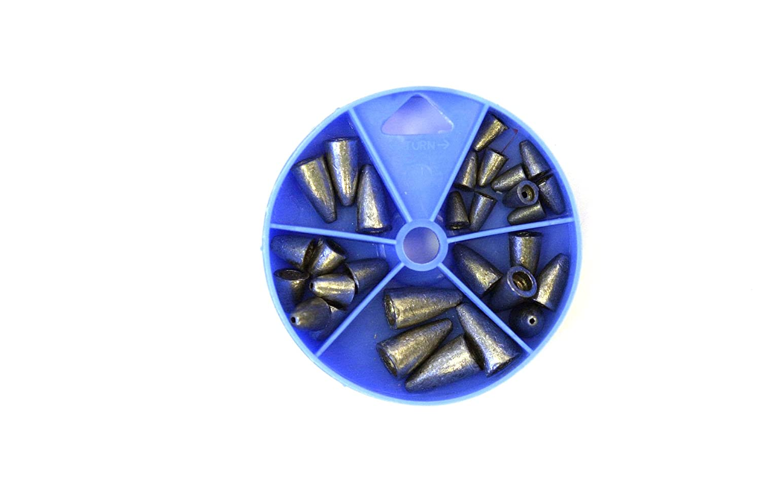 Eagle Claw Sinker Assortment Worm Weight Per 27