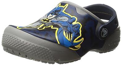9263bc148ae2a2 crocs Boys  Crocsfunlab Batman Clog