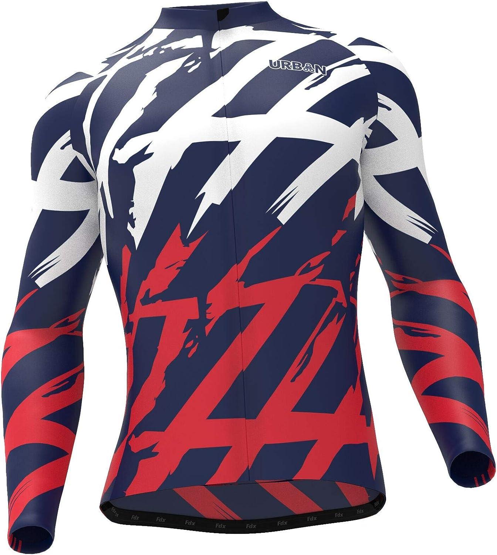 Mens Pro Urban Thermal Cycling Long Sleeve Jersey or Kit Bundle Cargo Bib Tights