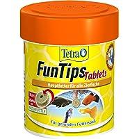 Tetra FunTips Tablets, hechtende voedertabletten als hoofdvoer voor alle siervissen, versterken de kleurkracht en zorgen…