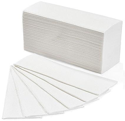 Toallas desechables de papel para esteticista, de nido de abeja: Amazon.es: Belleza