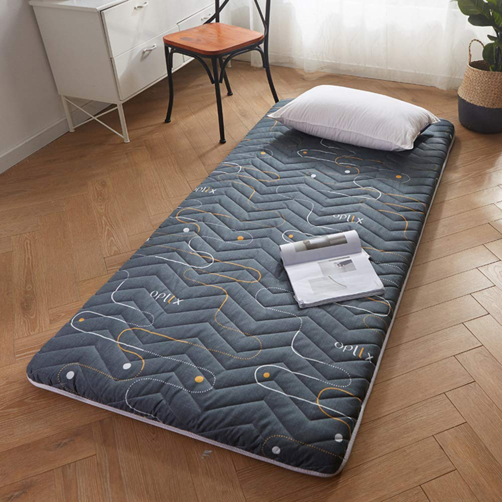 D Queen2 Thicken Tatami Mattress, Collapsible Non-Slip Mattress Pad Japanese Futon Tatami Mat Student Dormitory Roll Up Mattress-b Queen1