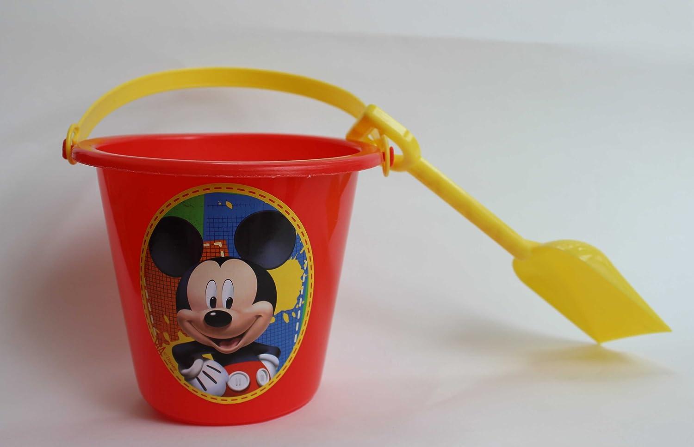amazon com disney mickey mouse sand pail and shovel perfect