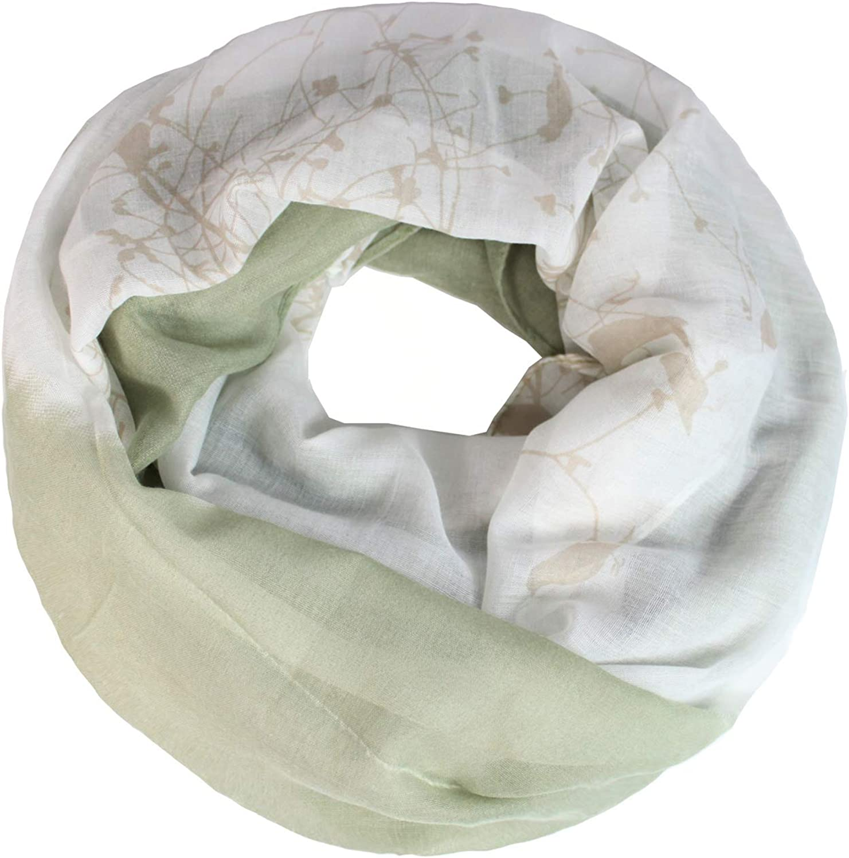 Glamexx24 Echarpe en boucle Foulard tube chaud et doux 01072