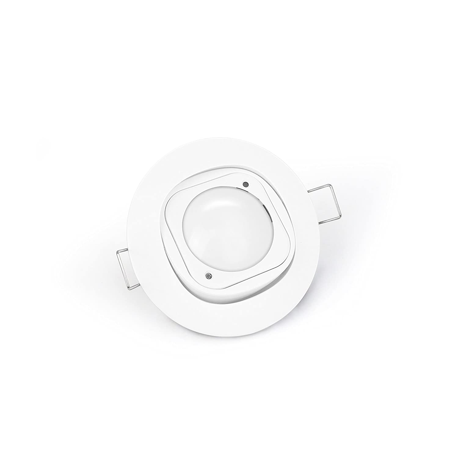 Luce Z-Wave Plus 6-in-1 Sensore di Movimento Batteria Inclusa Aeotec Multisensor 6 /& Ceiling Recessor Vibrazione UV Temperatura Umidit/à