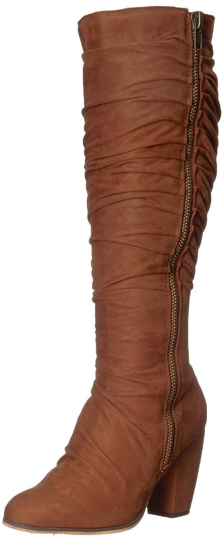 Michael Antonio Women's Eliah Slouch Boot B071K6WNMR 6.5 B(M) US Cognac