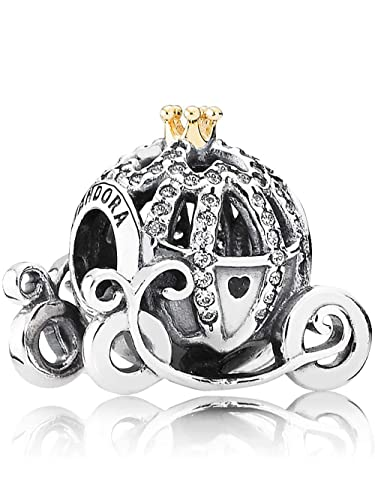 Image Unavailable. Image not available for. Color  Pandora Disney  Cinderella s Pumpkin Coach Charm 791573CZ fab77fd2a