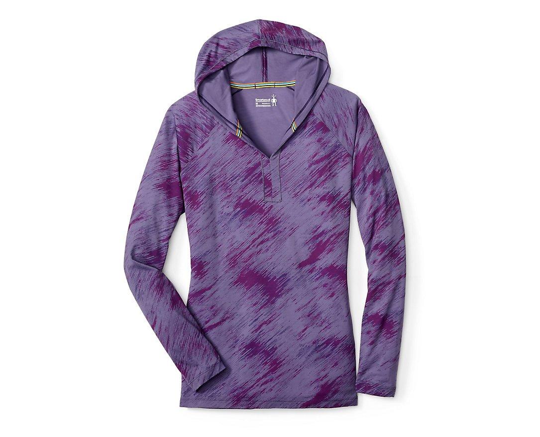 Smartwool Women's Merino 150 Pattern Hoody (Desert Purple) Medium