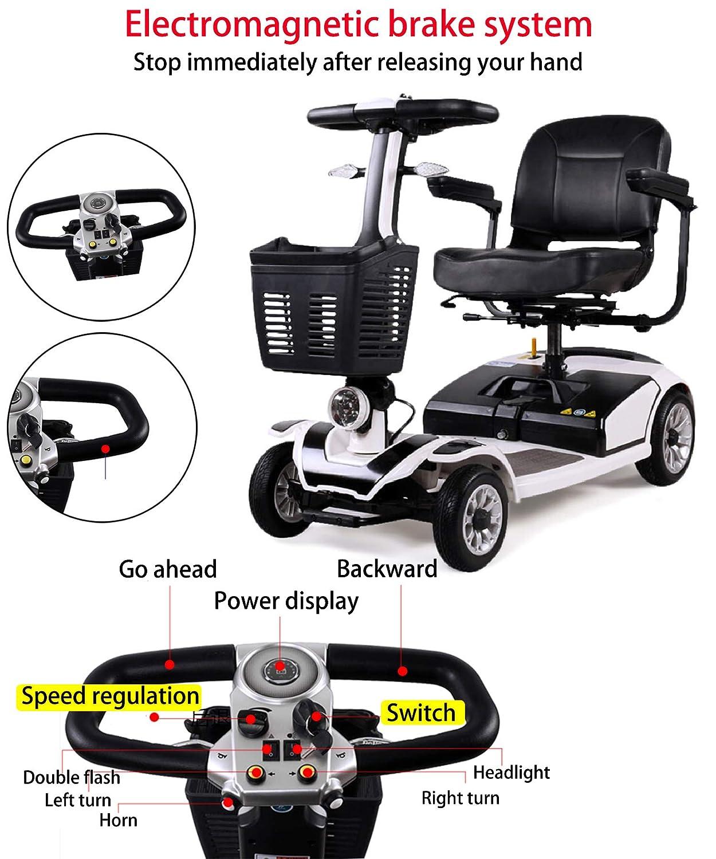 Amazon.com: ACEDA - Patinete eléctrico ligero y compacto ...