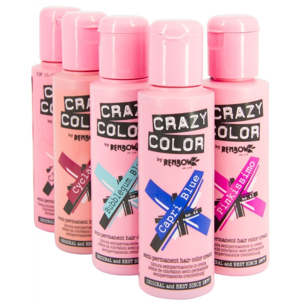 Amazon Crazy Color Semi Permanent Hair Colour Dyes By Renbow
