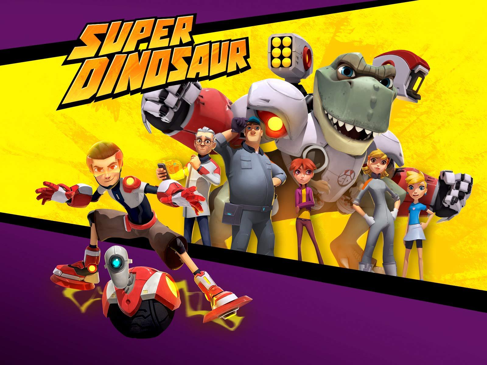 Super Dinosaur on Amazon Prime Video UK