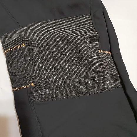 GooDoi Softshell Fleece Forrado Pantalones De Senderismo De Invierno Cálido Caminar Escalada Pantalones De Pesca Pantalones De Carga