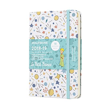 Moleskine Limited Edition Petit Prince 18 Month 2018-2019 Weekly Planner, Hard Cover, Pocket (3.5