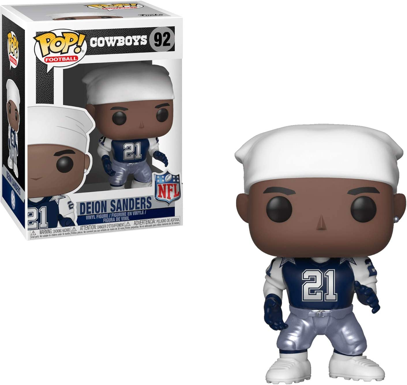 Cowboys Home Deion Sanders Collectible Figure Funko Pop NFL
