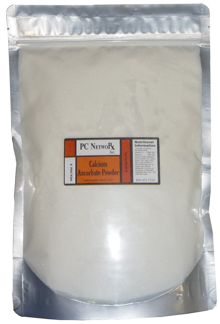 PC NetwoRx Pure Calcium Ascorbate Powder (3 Pound)