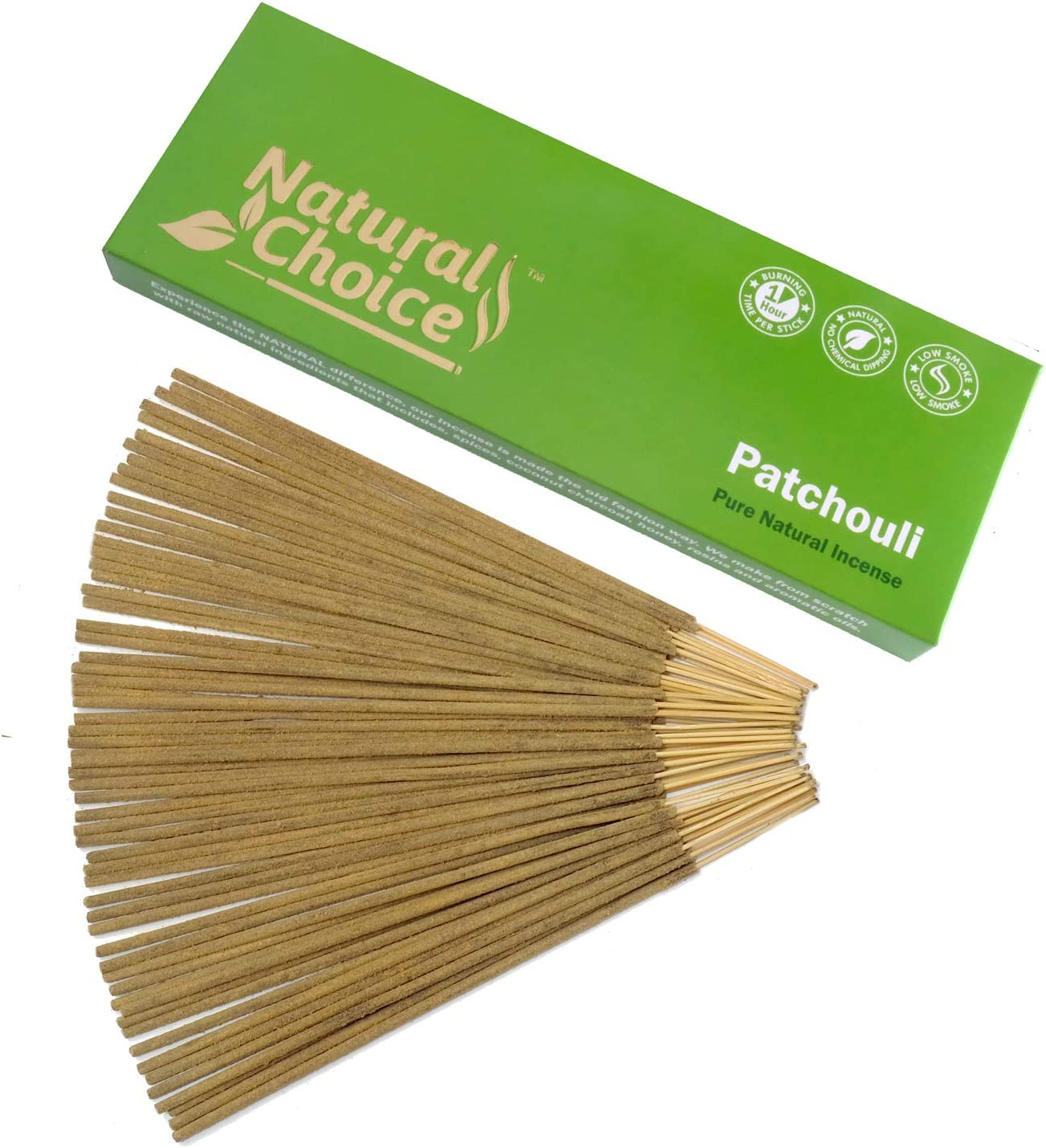LOT OF 100 Stick GR PATCHOULI Incense 5 TUBE OF 20 Sticks = 100 STICKS PATCHOULY