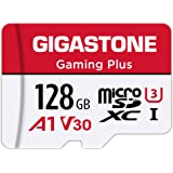 Gigastone 128GB Micro SD Card, Gaming Plus, Nintendo Switch Compatible, High Speed 100MB/s, 4K Video Recording, Micro…