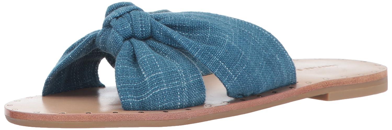 Loeffler Randall Women's Lucia Studded Knot Slide Sandal B06XPQPRC3 10.5 B(M) US Indigo