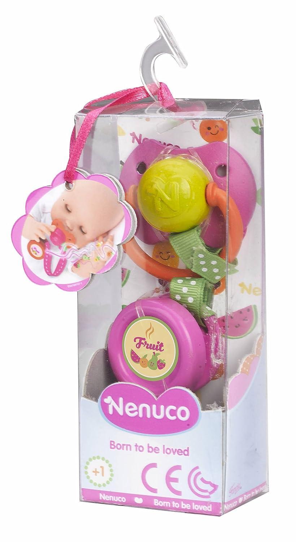 Nenuco - Chupete Verde y Rosa (Famosa 700014339)