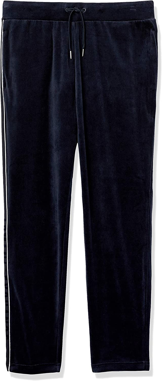 AX Armani Exchange Men's Cotton Polyester Velour Draw String Trouser