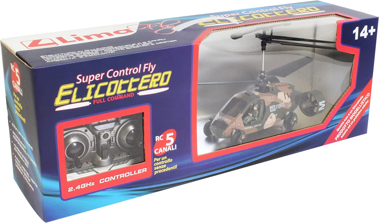 Lima Fly CWk027 - Helicóptero por control remoto (5 canales, 2,4 ...