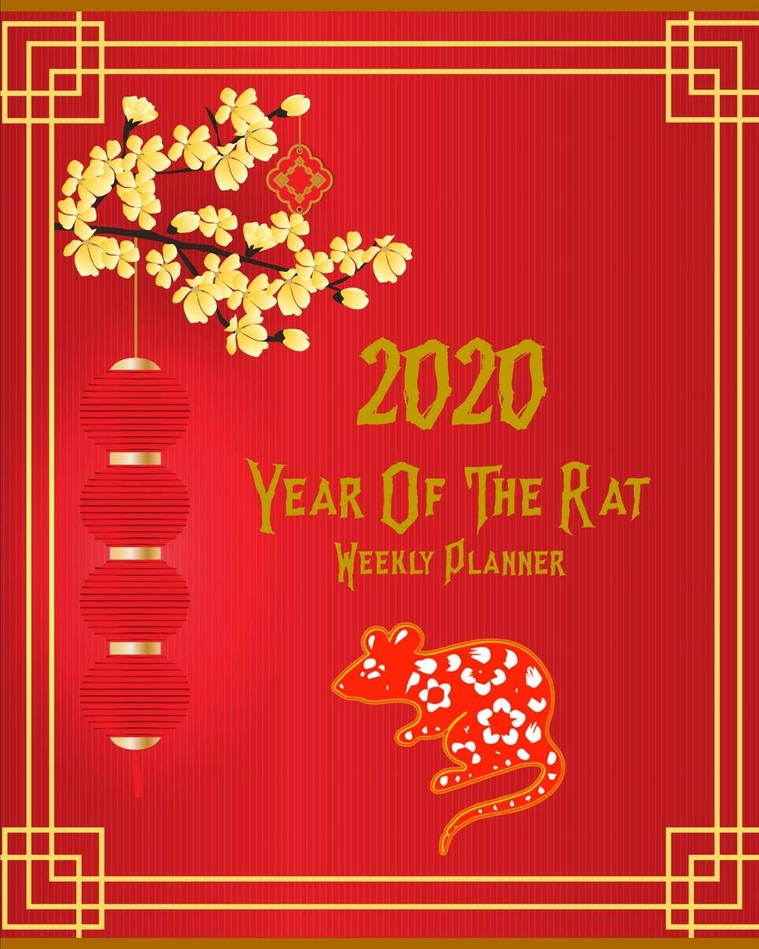 Chinese New Year 2020.Amazon Com 2020 Year Of The Rat Happy Chinese New Year