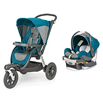 Chicco Activ3 Jogging Stroller Keyfit 30 Magic Infant Car Seat Travel System